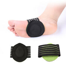 1 Pair Sport Arch Cushioned Foot Support Brace Decrease Plantar Fasciitis Pain
