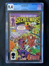 Secret Wars II #5 CGC 9.4 (1986) - 1st app of Boom-Boom (Tabitha Smith)