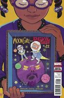 Moon Girl And Devil Dinosaur Comic 22 Cover A First Print 2017 Natacha Bustos