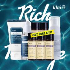 KLAIRS Rich Moist Package / 3 items + 5 mini Toner vegan friendly sensitive skin