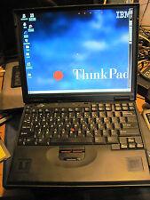 IBM  ThinkPad  2645  with   WINDOWS 95. INSTALLED  rare!!!