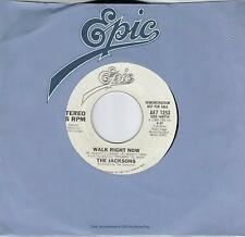 MICHAEL JACKSON  Walk Right Now  rare promo 45 from 1980  THE JACKSONS