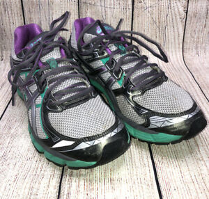 Asics GT-2000 Titanium Grey Athletic Sneakers Running Shoes Women's Size 12
