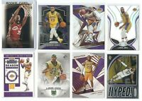 x26 Different LEBRON JAMES Premium card lot/set Select Prizm Lakers w/2003-04 RC