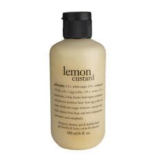 Philosophy Lemon Custard Shampoo, Shower Gel, Bubble Bath 6 fl. oz. Sealed