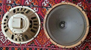 Vintage Pair 1968 Oxford 12'' Alnico 8 Ohm Guitar Speaker Model 12HB-15