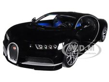 BUGATTI CHIRON BLACK 1/18 DIECAST MODEL CAR BY KYOSHO C09548BK