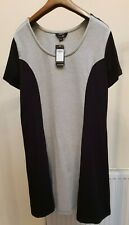 Simply Be Dress Grey with Black side panels BNWT Size 18