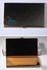 Vintage Brass Viggo BOC Health Care Business Card Credit Cars Case Holder NOS