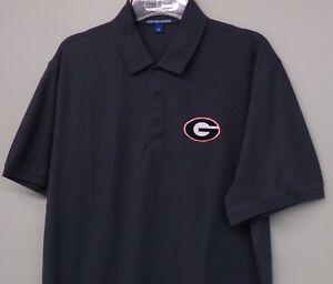 University of Georgia Bulldogs NCAA Mens Embroidered Polo XS-6XL, LT-4XLT New