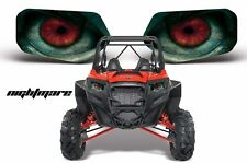AMR Racing Polaris RZR 800/900 UTV Headlight Graphics Eye Sticker Decals NIGHT