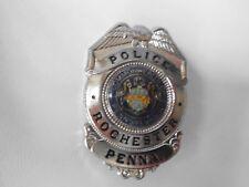 """amerikanisches Polizeiabzeichen (Dienstmarke) """"POLICE PENNASYLVANIA""""  - Replikat"""