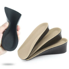 1Pair Heel Lifts Height Increase Insoles Shoe Insert Pads Raise Elevator Inserts