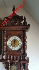 0154 - German FHS Hermle Westminster chime wall clock
