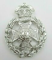 The Rifle Brigade Guelphic Crown Staybrite Anodised Cap Badge JR Gaunt London