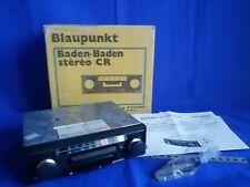 Rara AUTORADIO Vintage BLAUPUNKT BADEN Stereo CR - NUOVA dell'epoca FUNZIONANTE