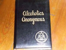 Alcoholics Anonymous Collectors EXTREMELY RARE 60TH ANN LEATHER LIMITED EDITION