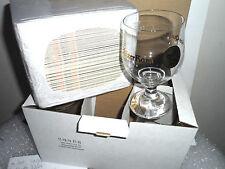 Lot 6x Glass Glaser Charles Quint - Keizer Karel VERRE A BIERE + 100 sous bock