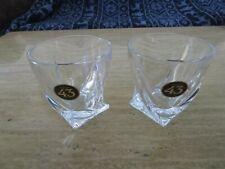 NEW! (2) Licor 43 Rocks Glasses - Heavy Duty-Barware Glassware Drinkware Liquor