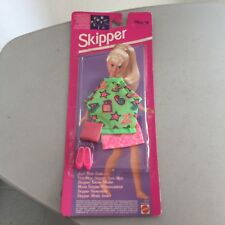 1993# VINTAGE MATTEL SKIPPER OUTFIT OUTFITS TEEN TIME FASHION#MOSC