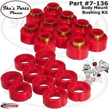 Prothane 7-136 20pc Body & Cab Mount Bushing Kit 92-99 Blazer/Tahoe/Yukon