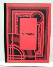 1985 STAR TREK Mutara Fanzine Book-48 Pgs-W Shatner Fellowship London (L9730)
