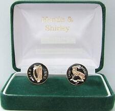 Irlanda 1962 Gemelli realizzati in vecchio Irish Soldini in nero e oro