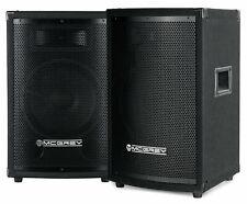 Paar 2-Wege DJ PA Lautsprecher Boxen 10
