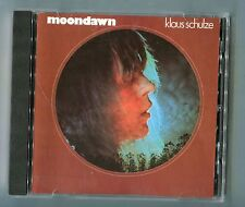 Klaus Schulze CD MOONDAWN © 1991 Brain 841 353-2  Krautrock German-2-track-CD