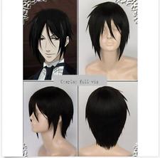 Hot!Kuroshitsuji Black Butler Sebastian Michaelis wig F3331