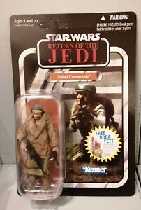 Star Wars Vintage Collection Rebel Commando VC26. RARE UNPUNCHED. By Kenner 2010