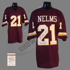 Washington Redskins, Mike Nelms signed custom pro style Jersey (BRG) w/JSA