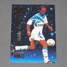 BRUNO GERMAIN OLYMPIQUE MARSEILLE OM PANINI FOOTBALL CARD PREMIUM 1995