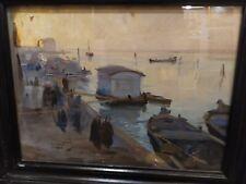 Quadro del Pittore Luigi Cobianco, dipinto ad olio su cartone