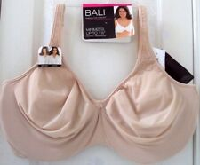 NEW! BALI (PASSION FOR COMFORT) 42G SOFT TAUPE BEIGE NUDE MINIMIZER BRA #DF3385