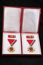 Hungary Hungarian Lot Medal 25 Years Liberation +mini + box! WW2 1970