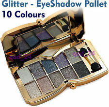 Butterfly Glitter Palette - EyeShadow - 10 Colors Eye Makeup Pressed Collection