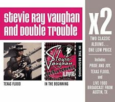 Stevie Ray Vaughan & Double Trouble (2x Albums) [New & Sealed] 2 CDs