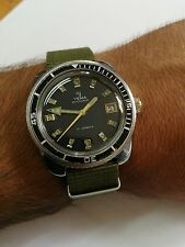 Yema automatic vintage watch diver