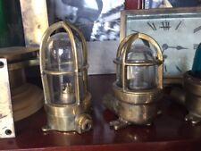 Lampada navale originale primi del 900 da piccolo yacht molto rare