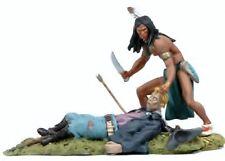 BlackHawk: BH0118, The West, Custer's Last Stand, Sioux scalping US Cavalryman