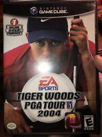 Tiger Woods PGA Tour 2004 (Nintendo GameCube, 2003) 2 Disc Set CIB w/ Manual