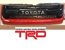 14-17 Genuine Tundra TRD Pro Grille Toyota 3R3 Barcelona Red Metallic OEM
