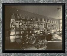 Charming... Interior of an Early 1900's General Store .Antique 5x7 Photo Print