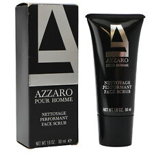 Azzaro Pour Homme 50 ml Face Scrub Gesichtspeeling old vintage Version