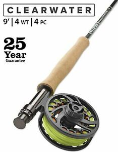 "Orvis Clearwater 4wt 9'0"" - 25 Year Warranty 