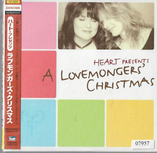 Heart presents Lovemongers Christmas CD JAPAN IMPORT OBI AUDIOPHILE mini LP