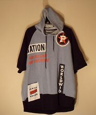 NWT MEN'S 4XL PARISH NATION MULTI-COLOR S/S P/O HOODIE HOODED SWEAT $52 #934