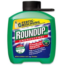 ROUNDUP® Unkrautfrei Speed Nachfüllpackung 2,5l, Unkrautvernichtung Unkrautex