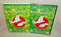 Ghostbusters / Ghostbusters 2 (DVD, 2005, 2-Disc) NEW & SEALED